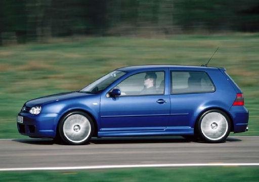 VOLKSWAGEN Golf IV hatchback niebieski jasny boczny lewy