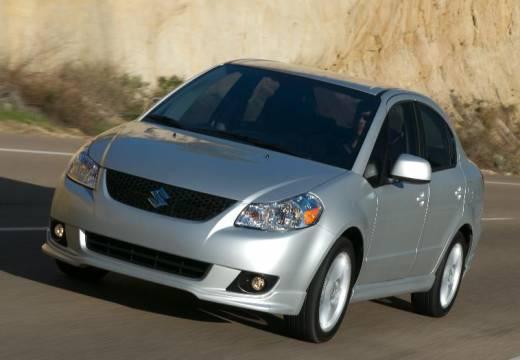 SUZUKI SX4 sedan silver grey przedni lewy