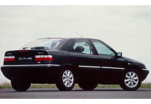 CITROEN Xantia II hatchback czarny tylny prawy