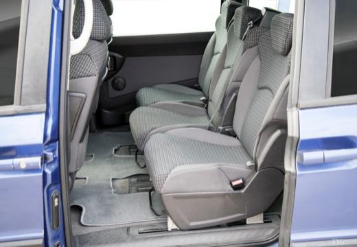 FIAT Ulysse van niebieski jasny wnętrze