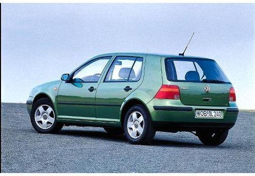 VOLKSWAGEN Golf IV hatchback zielony tylny lewy
