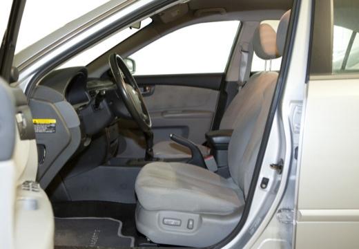 KIA Magentis III sedan wnętrze
