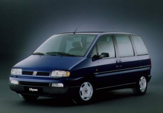 FIAT Ulysse I van niebieski jasny przedni lewy