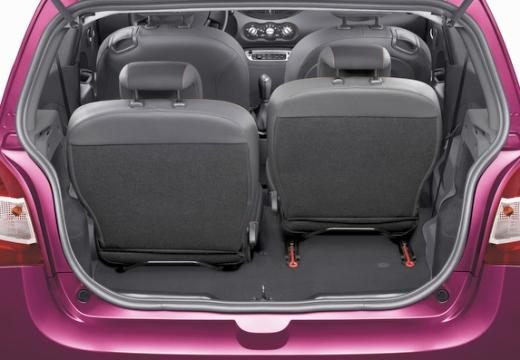 RENAULT Twingo V hatchback przestrzeń załadunkowa