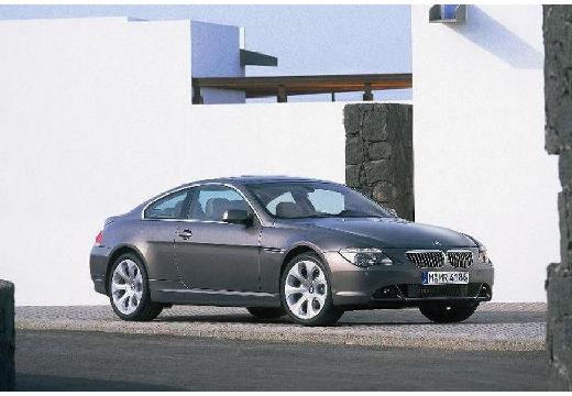 BMW Seria 6 E63 I coupe silver grey przedni prawy
