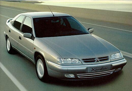 CITROEN Xantia II hatchback silver grey przedni prawy