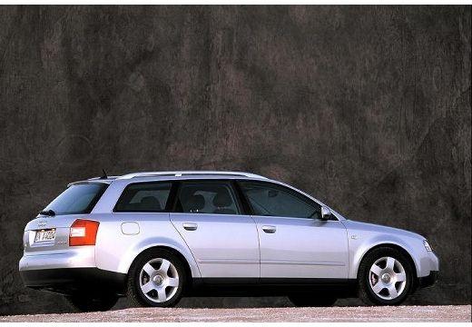 AUDI A4 kombi silver grey tylny prawy