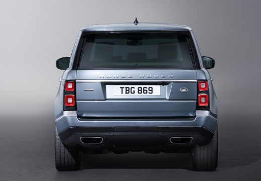 LAND ROVER Range Rover VII kombi niebieski jasny tylny