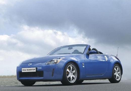 NISSAN 350 Z roadster niebieski jasny przedni lewy