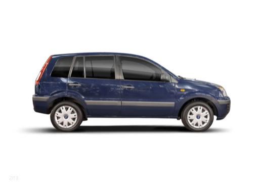 FORD Fusion II hatchback boczny prawy