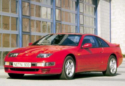 NISSAN 300 ZX targa czerwony jasny przedni lewy