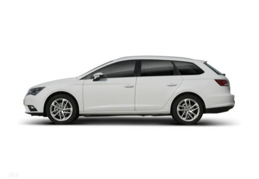 SEAT Leon ST I kombi biały boczny lewy