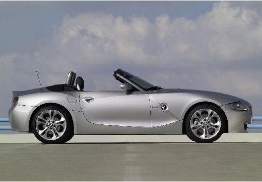 BMW Z4 E85 II roadster silver grey boczny prawy