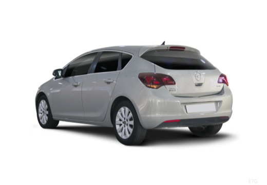 OPEL Astra IV I hatchback silver grey tylny lewy