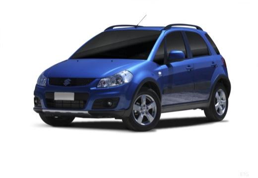 SUZUKI SX4 II hatchback niebieski jasny przedni lewy