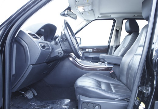 LAND ROVER Range Rover Sport III kombi czarny wnętrze