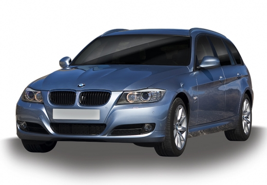 BMW Seria 3 Touring E91 II kombi silver grey