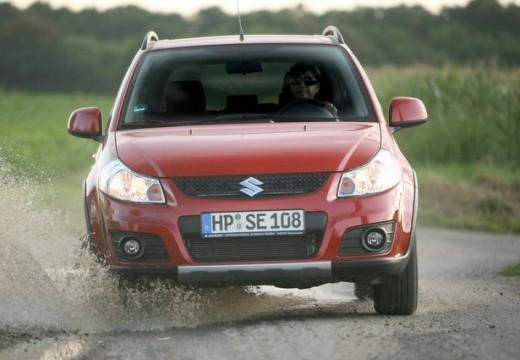SUZUKI SX4 II hatchback czerwony jasny przedni