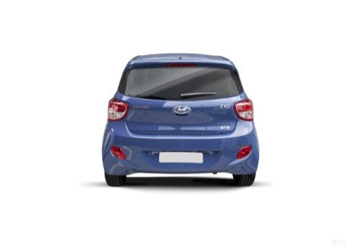 HYUNDAI i10 III hatchback niebieski jasny tylny