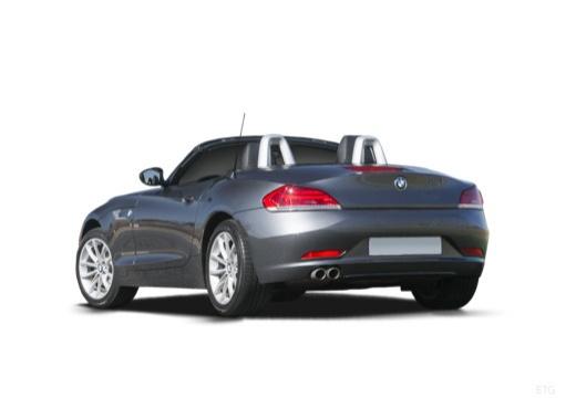 BMW Z4 E89 II roadster szary ciemny tylny lewy