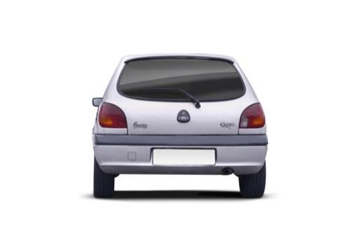 FORD Fiesta IV hatchback silver grey tylny