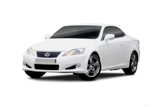 LEXUS IS C kabriolet biały przedni lewy