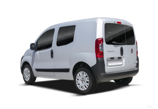 FIAT Fiorino kombi silver grey tylny lewy