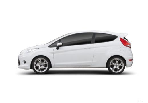 FORD Fiesta VII hatchback biały boczny lewy