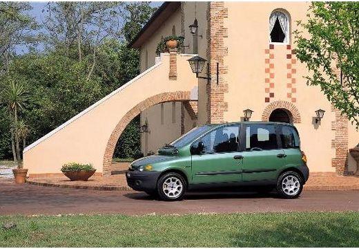 FIAT Multipla kombi zielony przedni lewy