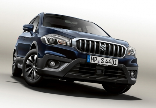 SUZUKI SX4 hatchback niebieski jasny przedni lewy
