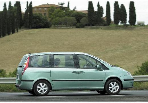 FIAT Ulysse III van zielony jasny tylny prawy