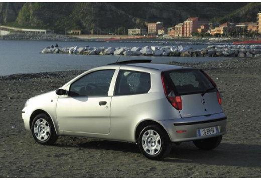 FIAT Punto II II hatchback silver grey tylny lewy