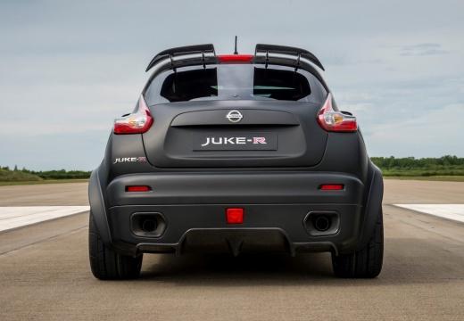 NISSAN Juke hatchback czarny tylny