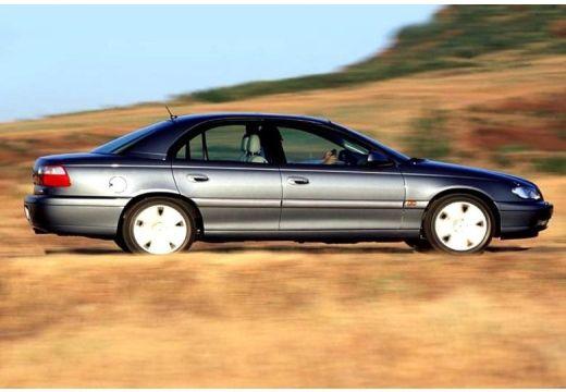OPEL Omega B II sedan szary ciemny boczny prawy