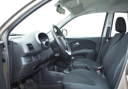 NISSAN Micra VI hatchback wnętrze