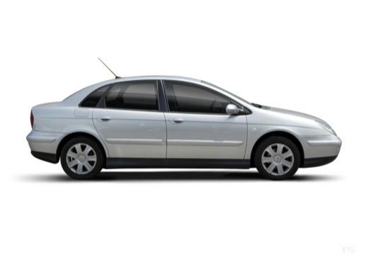 CITROEN C5 I hatchback silver grey boczny prawy