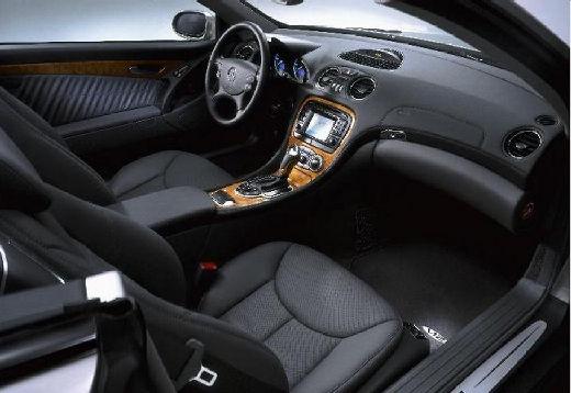 MERCEDES-BENZ Klasa SL SL 230 I roadster silver grey wnętrze