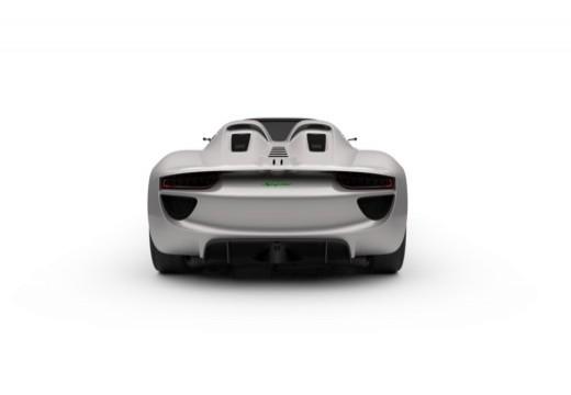 PORSCHE 918 Spyder I kabriolet tylny