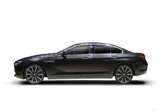 BMW Seria 6 Gran Coupe F06 II sedan boczny lewy