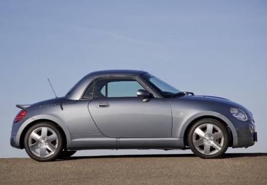 DAIHATSU Copen roadster silver grey boczny prawy