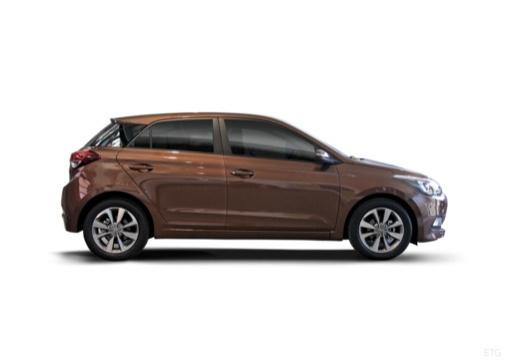 HYUNDAI i20 III hatchback brązowy boczny prawy