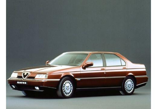 ALFA ROMEO 164 sedan bordeaux (czerwony ciemny) przedni lewy