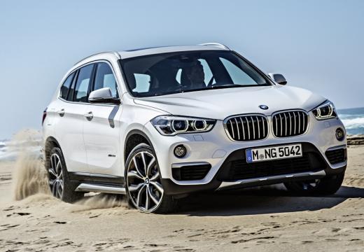 BMW X1 X 1 F48 I kombi biały przedni prawy