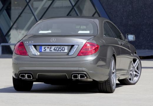 MERCEDES-BENZ Klasa CL C 216 II coupe silver grey tylny prawy