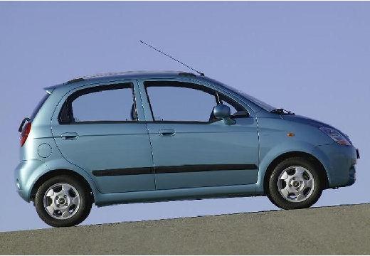 CHEVROLET Spark I hatchback niebieski jasny boczny prawy