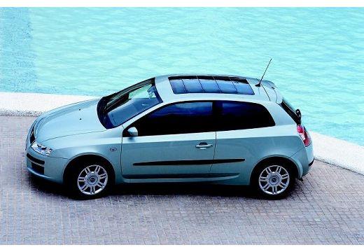 FIAT Stilo hatchback silver grey boczny lewy