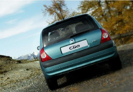RENAULT Clio II III hatchback zielony tylny