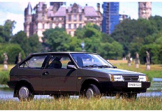 LADA Samara hatchback szary ciemny przedni prawy