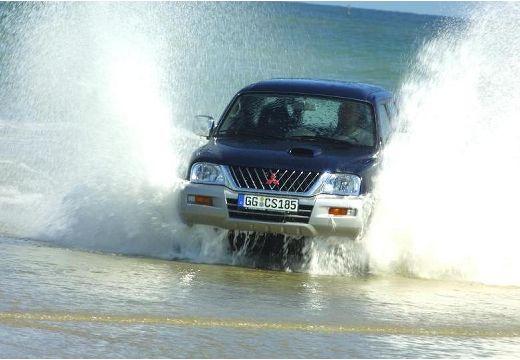 MITSUBISHI L 200 I pickup niebieski jasny przedni