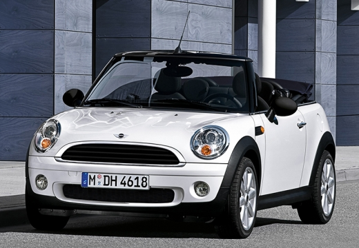 mini bmw cooper kabriolet ii 1 6 122km 2010. Black Bedroom Furniture Sets. Home Design Ideas